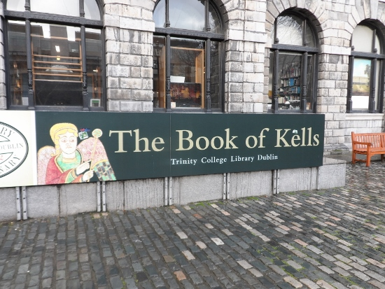 The book of kells tour