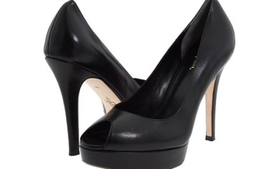 cole haan mariela open toe pump review