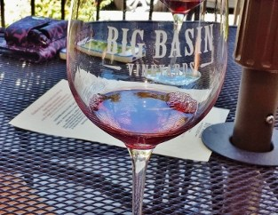 Big Basin Vineyards Wine Patio