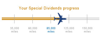 Keri US Airways special dividend progress