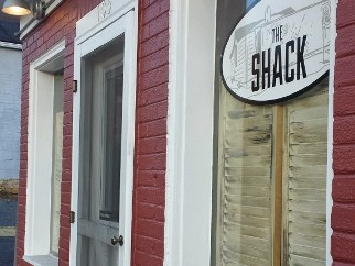 The Shack Staunton VA exterior