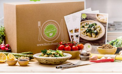 Hello Fresh review new eco friendly look for boxes
