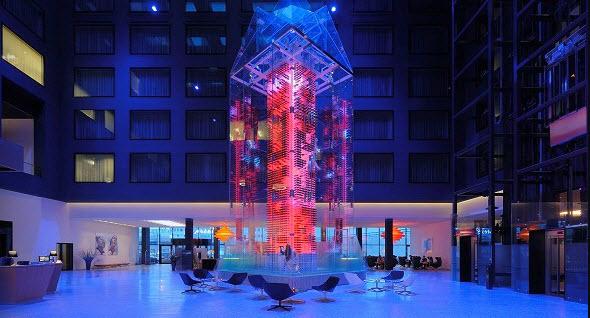 RadissonBlu Zurich Airport Hotel Lobby