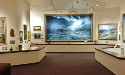 Norman Lowell Gallery anchor point ak northern lights