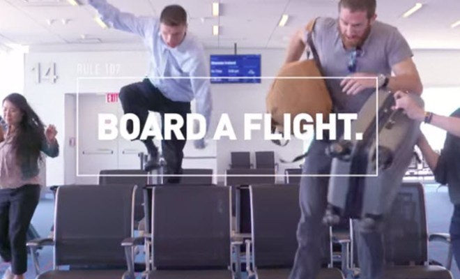 jetblue how not to board a flight etiquette video