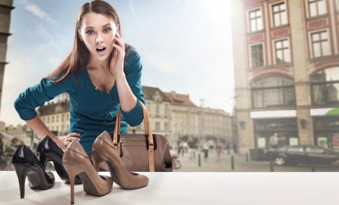 heels on sale shopping