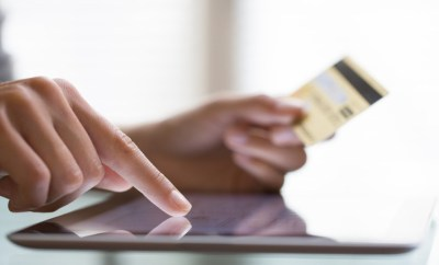 online purchase tablet credit card
