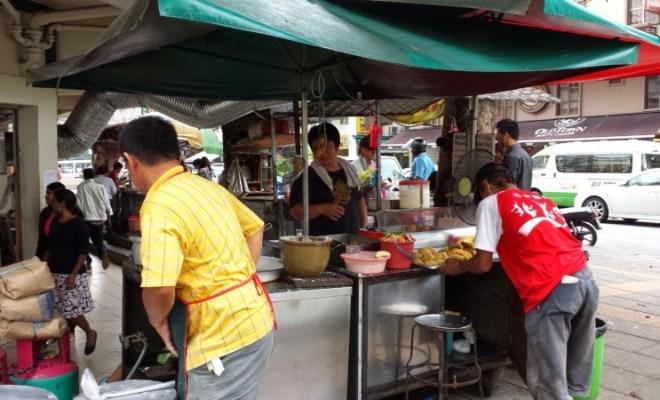 Kuala Lumpur food stall