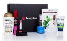 Target beauty box September 2016