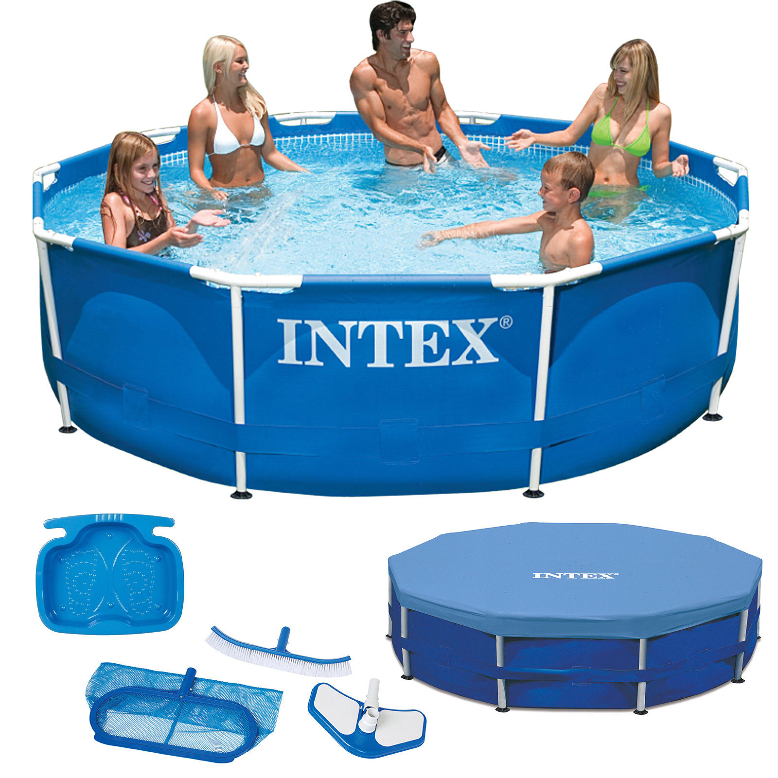 Solarplane Pool Intex 305 Details Zu Intex Metal Frame Swimming Pool Schwimmbecken Schwimmbad 305 Cm 457 Cm