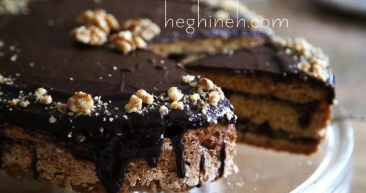 Chocolate Walnut Cake Recipe - Cake Mishka