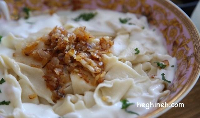 Armenian Pasta Tatar Boraki - Armenian Cuisine