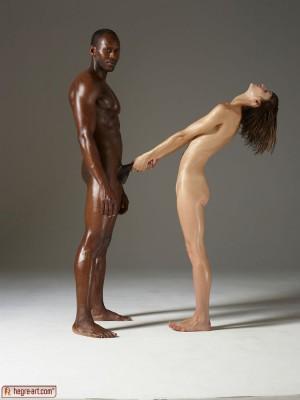skinny ebony