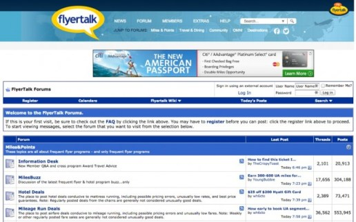 FlyerTalk Forums