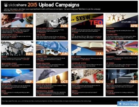SlideShare Calendar