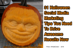 Halloween Social Media Marketing Tips