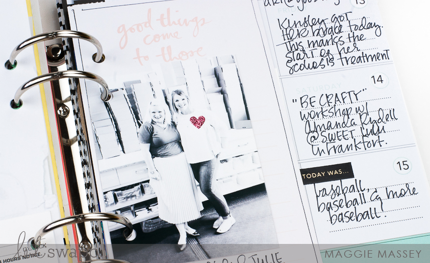 My Memory Planner :: May 2016 | @MaggieWMassey for @HeidiSwapp