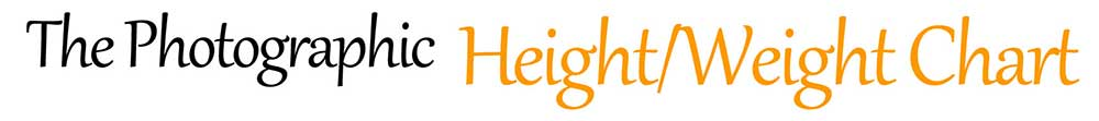 Height Weight Chart - Body Size Photo Gallery