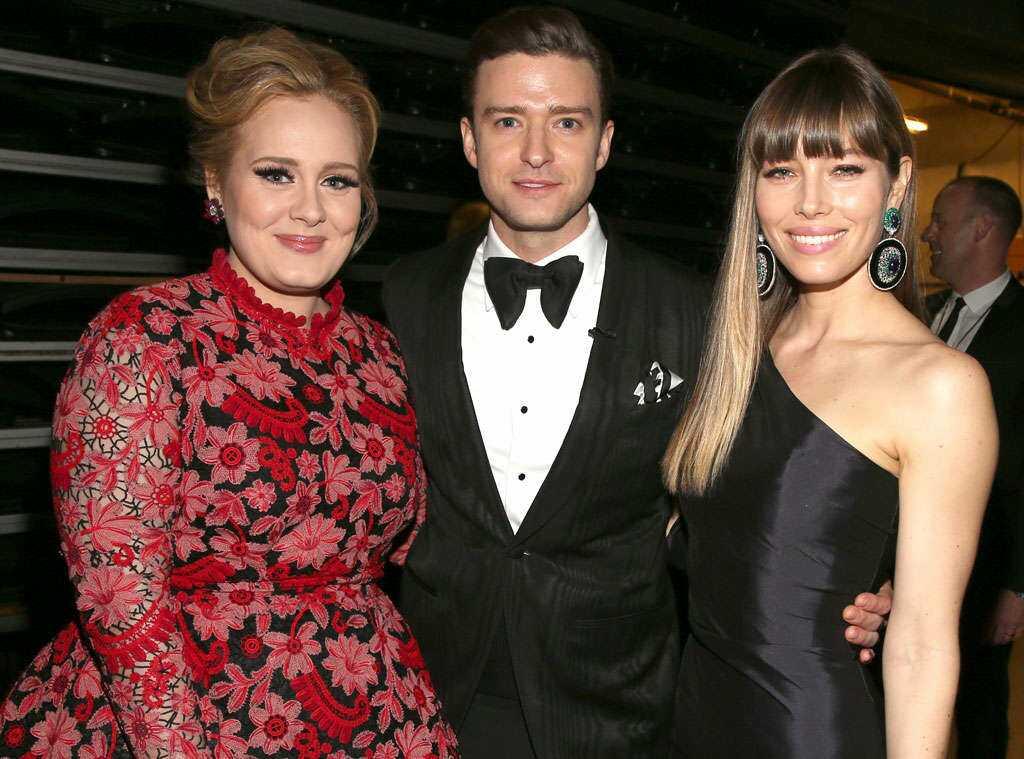 Adele's height 4