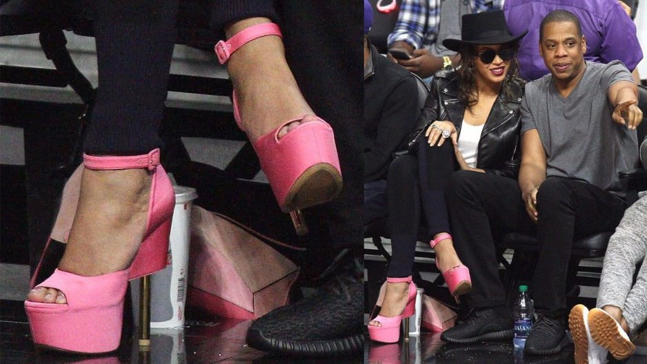 Beyonce Feet Shoe Size And Shoe Collection
