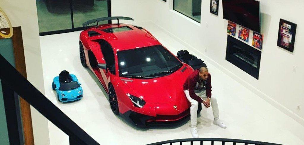 Chris Brown Car 2