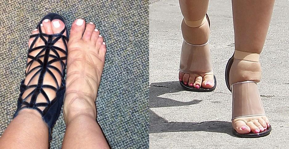 Kim Kardashian feet 1
