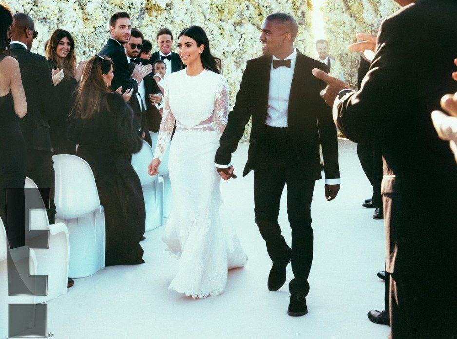 Kim and Kanye west wedding