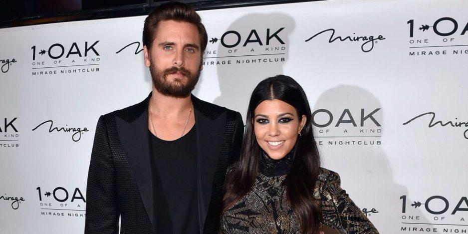 Kourtney Kardashian Husband Scott Disick