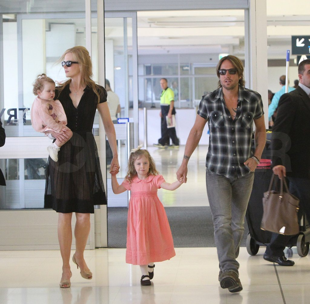 Nicole Kidman's children with Keith Urban