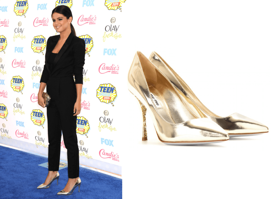 Selena Gomez 2014 Teen Choice Awards Shoe