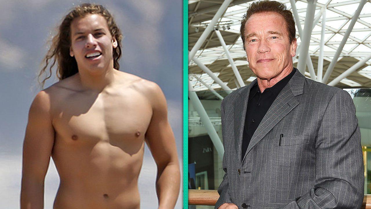 Arnold Schwarzenegger's affair son