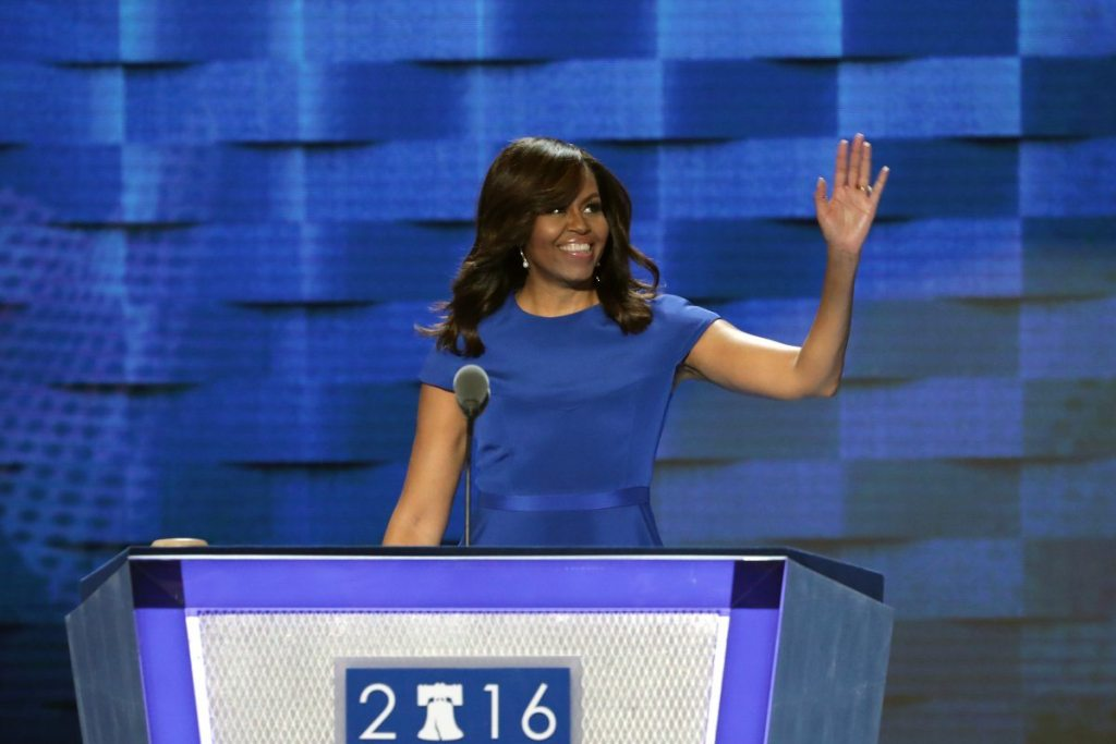 Michelle Obama's height 5