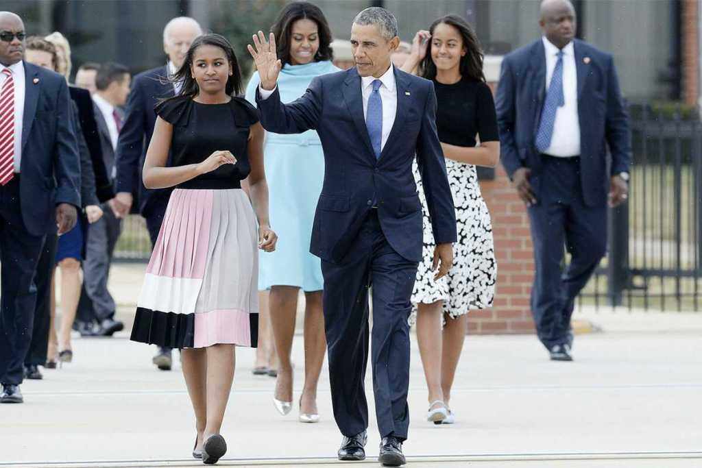 Barack Obama's daughter 8