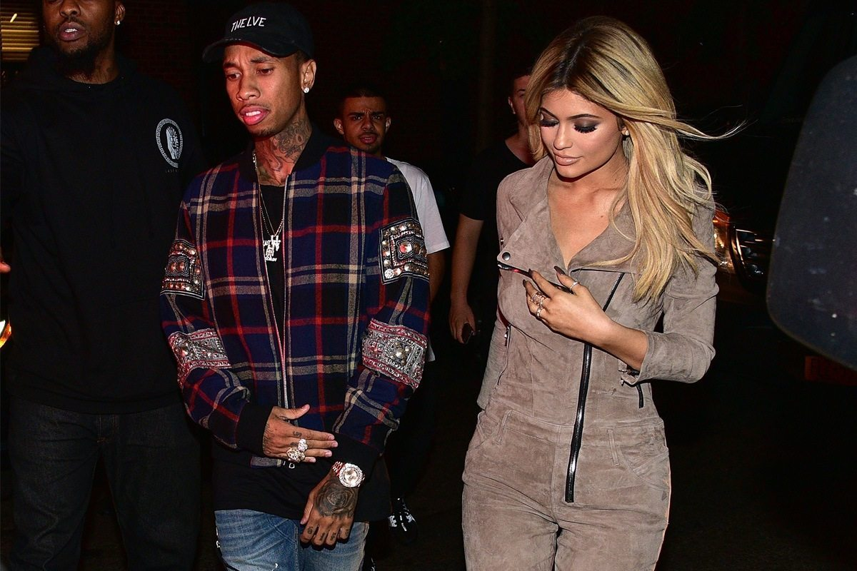 Kylie Jenner's outfits tyga
