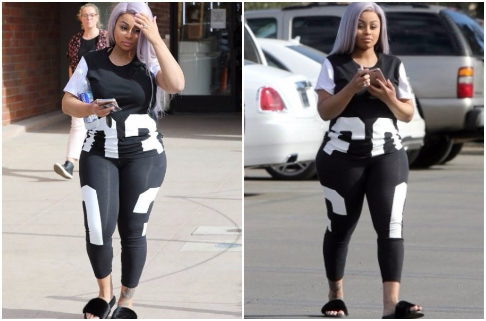 Blac Chyna's post pregnancy body