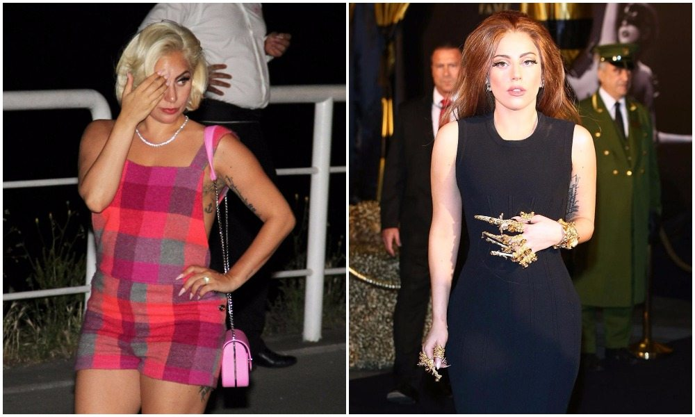 Lady Gaga's height 7