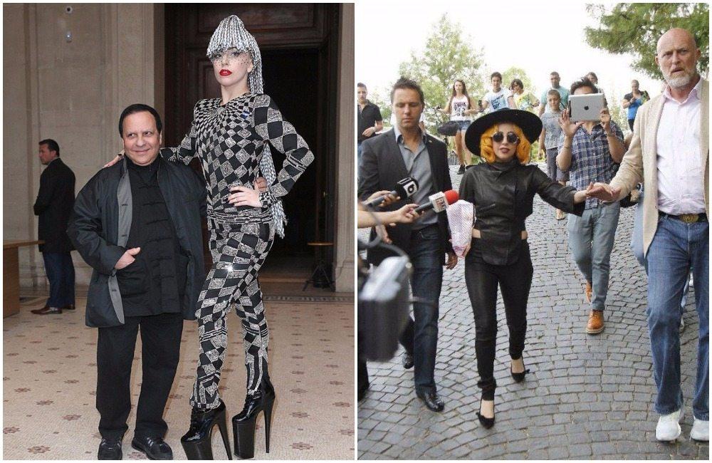 Lady Gaga's height 3