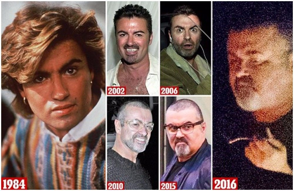 George Michael's height 5