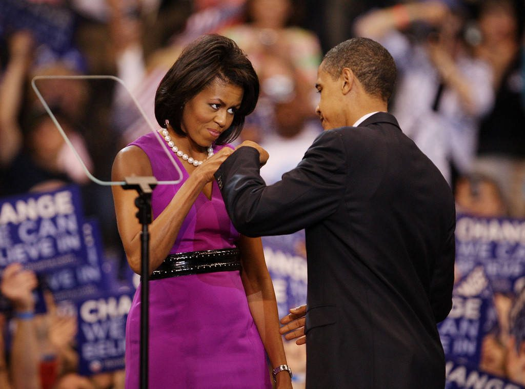 Michelle Obama's height 2