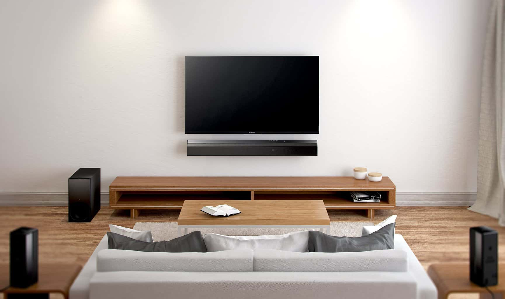 Kinosessel Befestigen Neuheit Sony Ht Rt5 Surround Soundbar Heimkinopartner