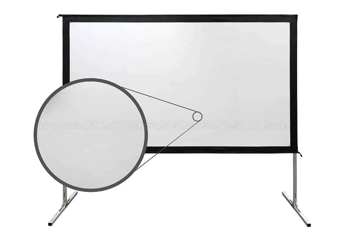 Kinosessel Outdoor Elite Screens Yard Master 2 Mobile Outdoor Leinwand