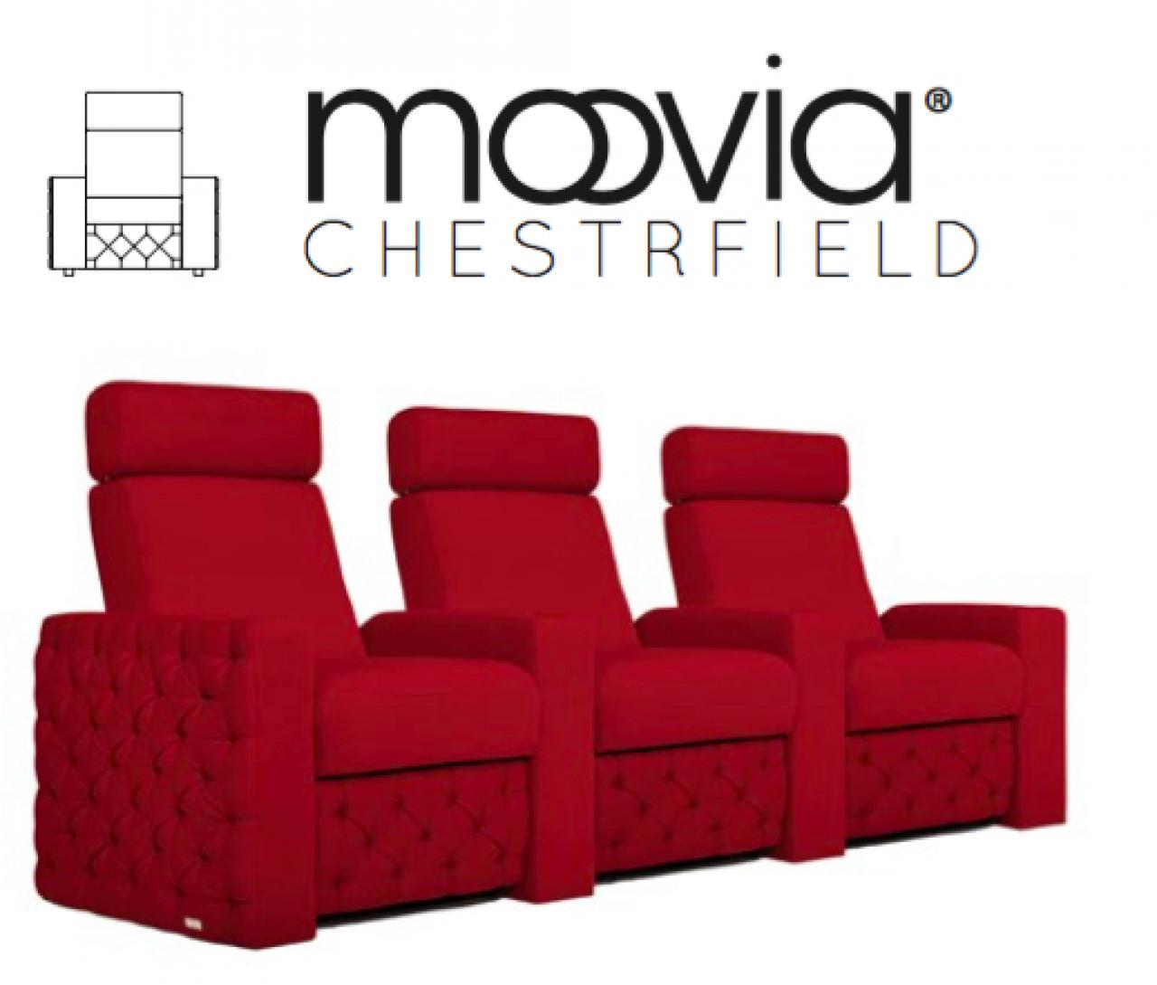 Longlife Sessel Heimkino Sessel Moovia Chesterfield