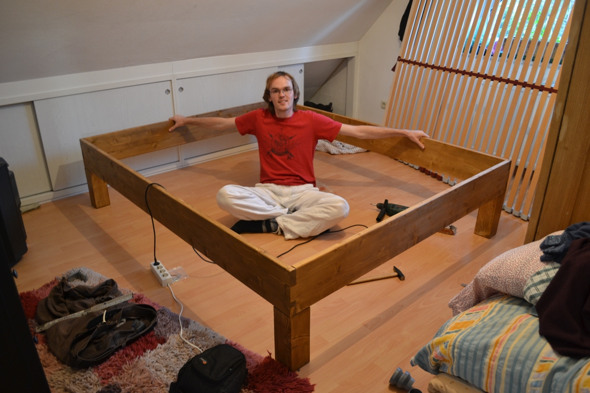 Bett Selber Bauen Ohne Lattenrost Bettgestell Selber Bauen – How To (build Your Own Bed