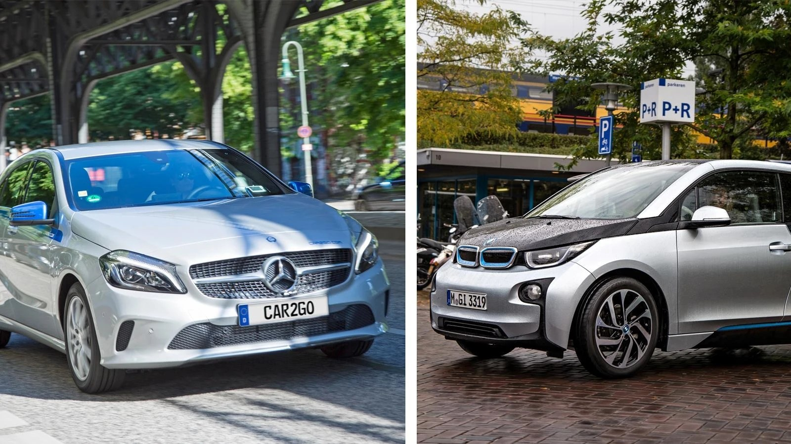 Drivenow Düsseldorf Daimler And Bmw Cars Are Merged Under Conditions Tech2