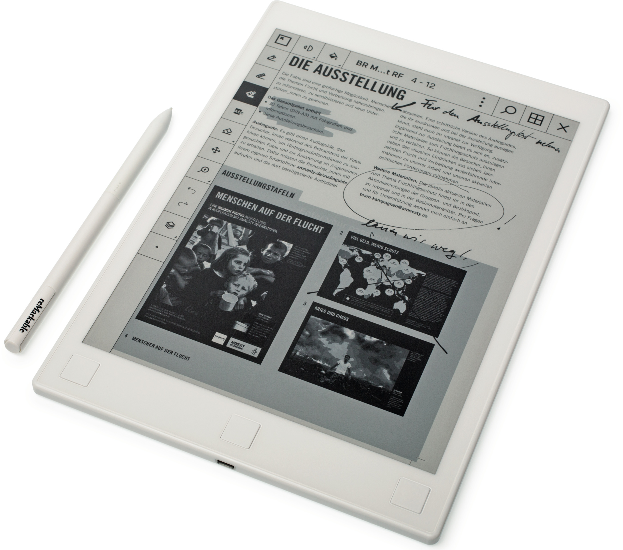Der Tablet Digitaler Notizblock C T Heise Magazine