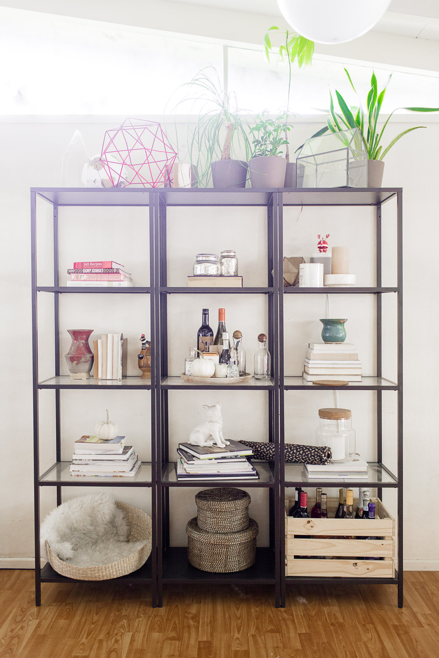 Ikea Hej Easy Steps To Style A Shelf - Hej Doll | Simple Modern