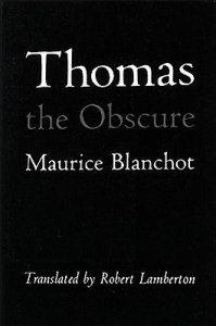 Thomas the Obscure by Maurice Blanchot
