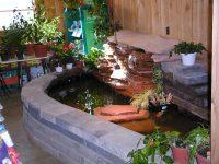 Garden Design Doors Indoor Waterfall Displays Indoor ...