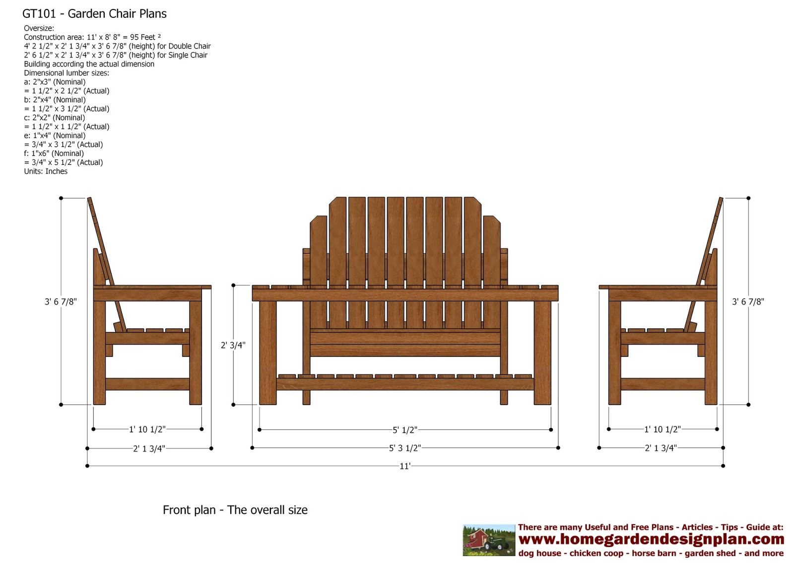 Outdoor furniture plans - Outdoor Furniture Patterns