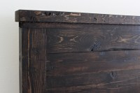 Diy Wood Headboard King Size : Brilliant Red Diy Wood ...